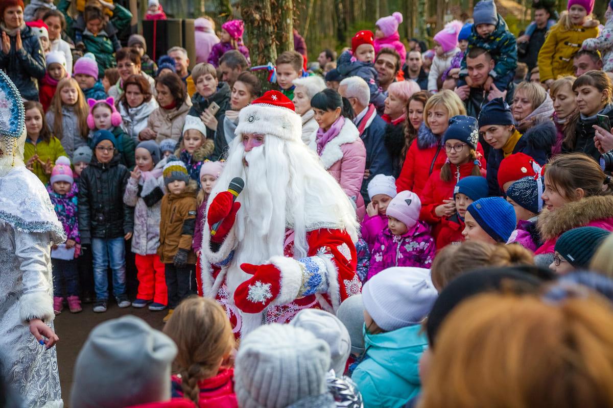 «Янтарное посольство Деда Мороза» открылось