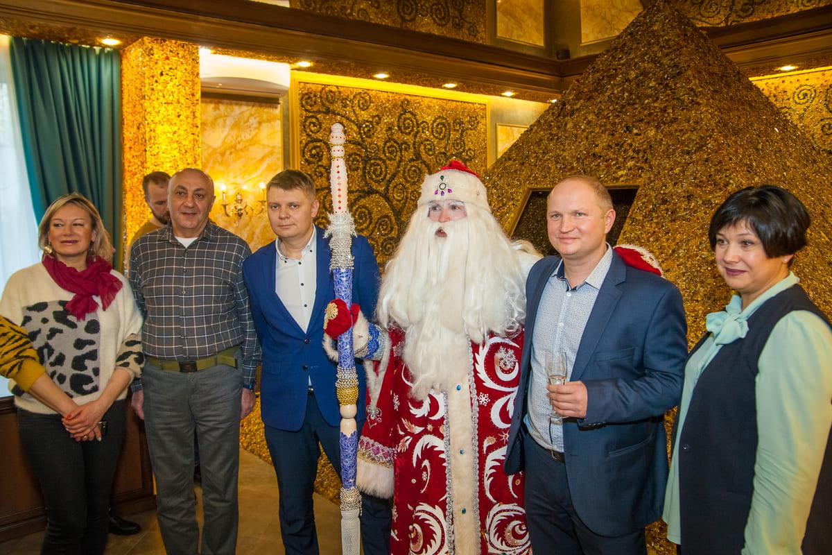 Открытие янтарной пирамиды в санатории «Янтарь»