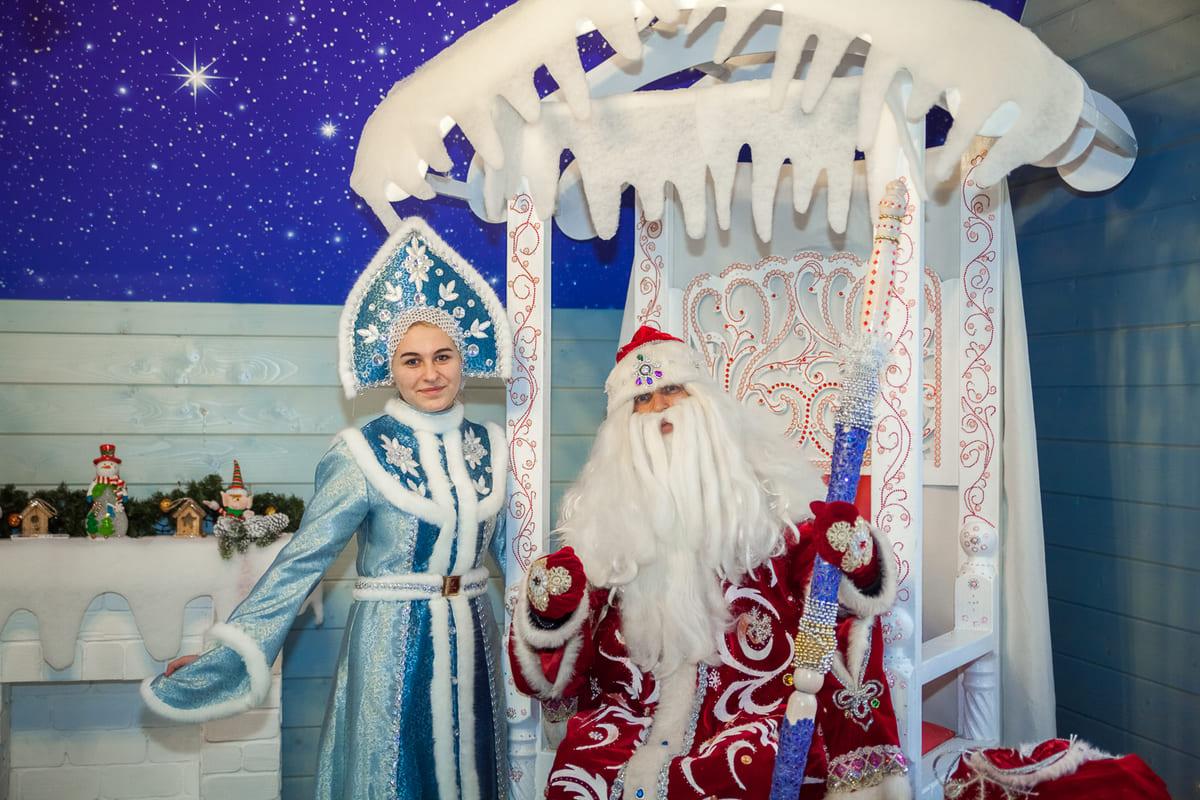 Янтарное посольство Дедушки Мороза